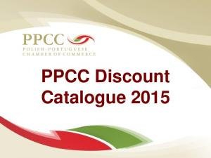 PPCC Discount Catalogue 2015