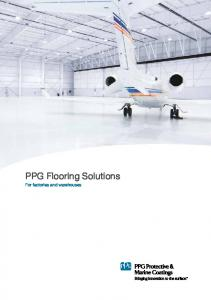 PPG Flooring Solutions. For factories and warehouses