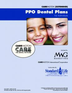 PPO Dental Plans For Individuals