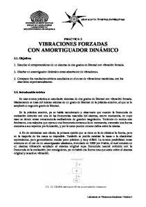 PRACTICA 3 VIBRACIONES FORZADAS CON AMORTIGUADOR DINÁMICO