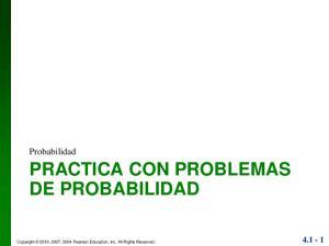 PRACTICA CON PROBLEMAS DE PROBABILIDAD