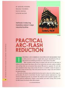 PRACTICAL ARC-FLASH REDUCTION