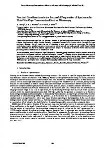 Practical Considerations in the Successful Preparation of Specimens for Thin-Film Cryo-Transmission Electron Microscopy