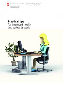 Practical tips for improved health and safety at work