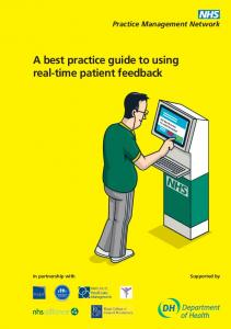 Practice Management Network. A best practice guide to using real-time patient feedback