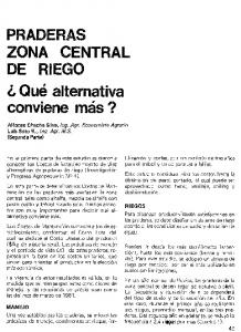 PRADERAS ZONA CENTRAL DE RIEGO