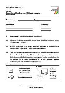 Praktikum Elektronik 2