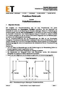 Praktikum Elektronik