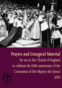 Prayers and Liturgical Material