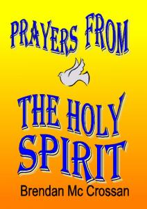 Prayers from the holy Spirit