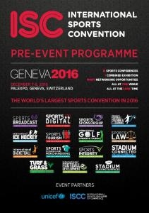 PRE-EVENT PROGRAMME THE WORLD S LARGEST SPORTS CONVENTION IN 2016 EVENT PARTNERS SPORTS SPORTS BASKETBALL SPORTS