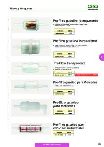 Pre-filtro gasolina transparente. Pre-filtro gasolina transparente. Pre-filtro transparente. Pre-filtro gasóleo para Mercedes