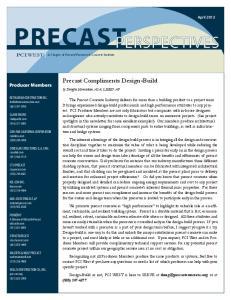 Precast Compliments Design-Build