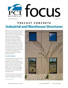 PRECAST CONCRETE Industrial and Warehouse Structures