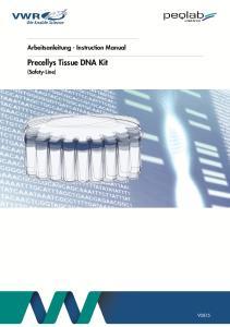 Precellys Tissue DNA Kit