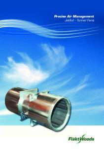 Precise Air Management Jetfoil - Tunnel Fans