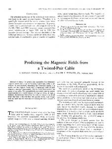 Predicting the Magnetic Fields from