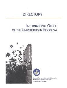PREFACE. Best wishes, Jakarta, July 30, Ananto Kusuma Seta Head, Bureau of Planning and International Cooperation
