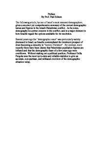 Preface By Prof. Paul Scham