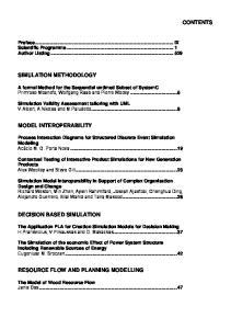 Preface... IX Scientific Programme... 1 Author Listing