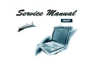 Preface. Notebook Computer. D800P Series. Service Manual. Preface
