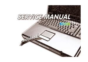 Preface. Notebook Computer D900F. Service Manual. Preface