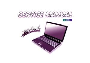 Preface. Notebook Computer X8100. Service Manual. Preface
