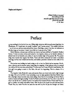 Preface. Preface and chapter 1