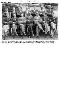 Prefects 1940 Boys and Girls Groups