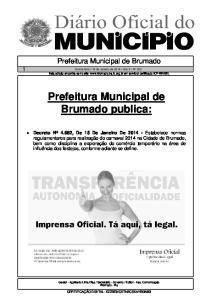Prefeitura Municipal de Brumado publica: