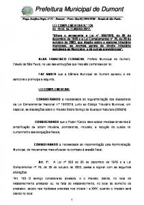 Prefeitura Municipal de Dumont