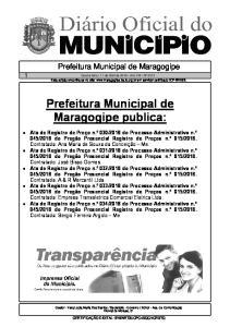 Prefeitura Municipal de Maragogipe publica:
