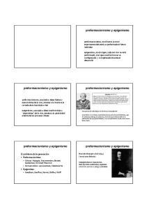 preformacionismo y epigenismo preformacionismo y epigenismo preformacionismo y epigenismo preformacionismo y epigenismo preformacionismo y epigenismo