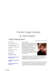 Premier Image Cosmetic. & Laser Surgery