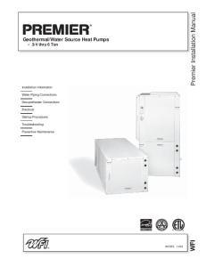 Premier Installation Manual