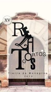 PREMIO DE RELATOS CORTOS LOS MONEGROS 2013