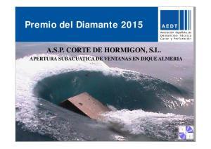 Premio del Diamante 2015