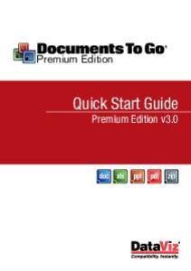 Premium Edition. Quick Start Guide. Premium Edition v3.0