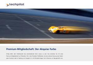 Premium-Mitgliedschaft: Der Akquise-Turbo