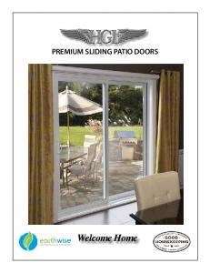 PREMIUM SLIDING PATIO DOORS