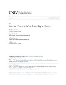 Prenatal Care and Infant Mortality in Nevada