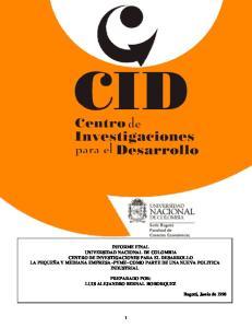 PREPARADO POR: LUIS ALEJANDRO BERNAL BOHORQUEZ