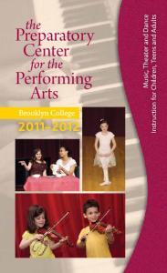 Preparatory Center. Performing Arts