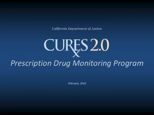 Prescription Drug Monitoring Program