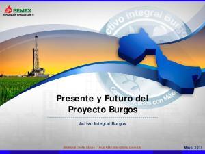 Presente y Futuro del Proyecto Burgos