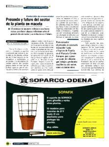 Presente y futuro del sector de la planta en maceta