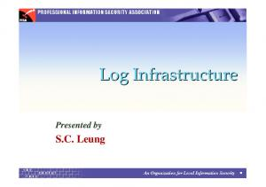 Presented by S.C. Leung