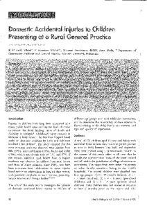 Presenting at al Rural G eneral Practice