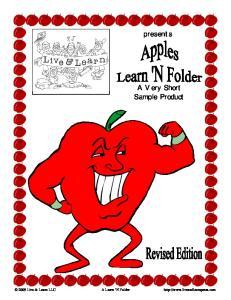 presents A Very Short Sample Product 2009 Live & Learn LLC A Learn N Folder