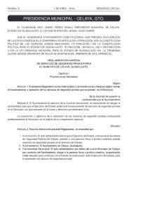 PRESIDENCIA MUNICIPAL - CELAYA, GTO